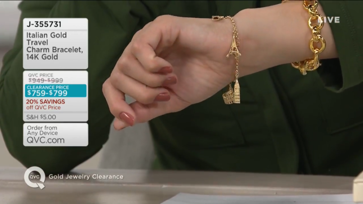 QVC\'s Cathy Pedrayes (@CathyQVC) Gold Jewelry Clearance ...