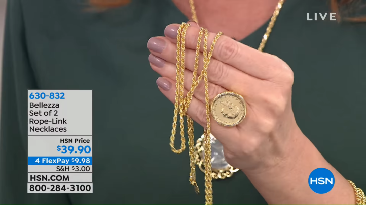 HSN _ Bellezza Jewelry Collection Gifts 10.18.2018 - 06 AM 6-29 screenshot