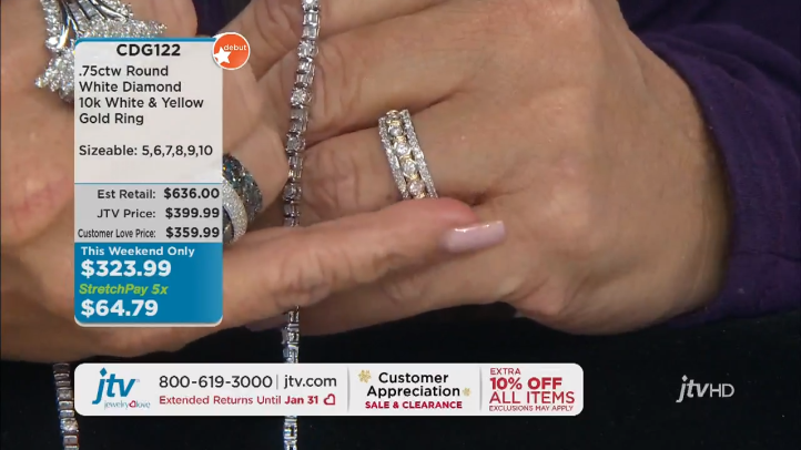 Jewelry Television Live Stream 1-41-27 screenshot