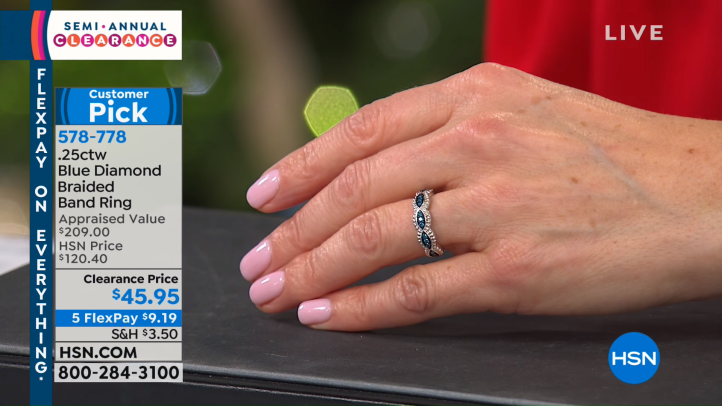 HSN _ Jewelry Clearance 12.23.2018 - 11 PM 8-20 screenshot