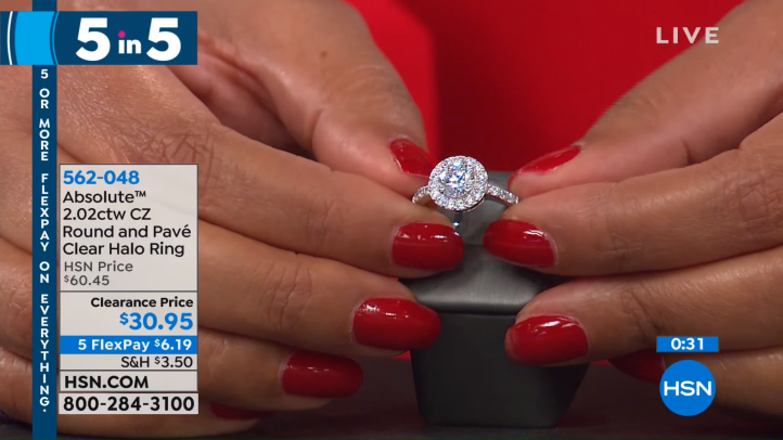 HSN _ Jewelry Clearance 12.24.2018 - 04 AM 13-50 screenshot