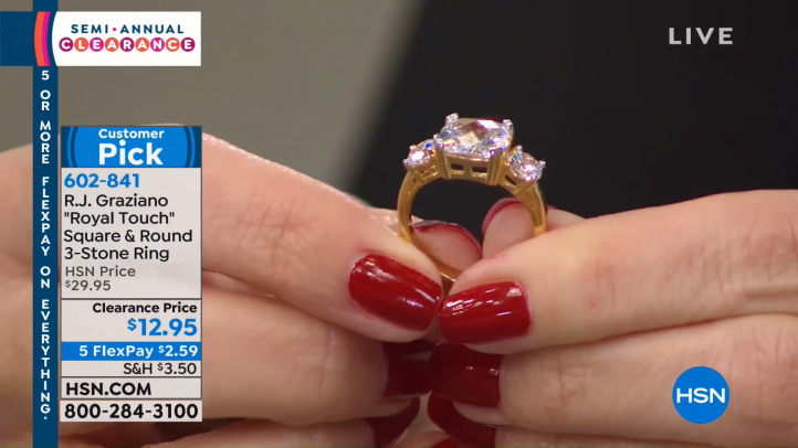 HSN _ Jewelry Clearance 12.24.2018 - 07 AM 47-54 screenshot